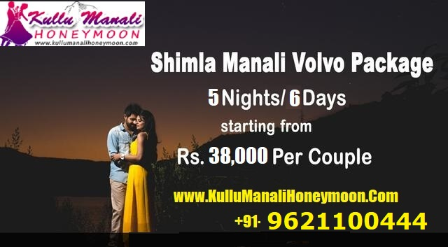 Shimla Manali Honeymoon Package 5night 6day