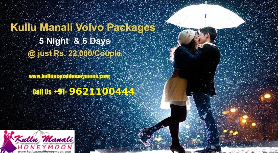 Manali Honeymoon Package By Volvo 5N and 6D