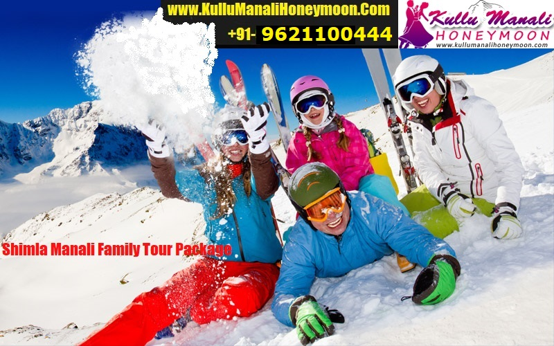 Shimla Manali Family Tour Package By Car